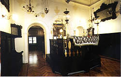 Synagogue in Dubrovnik, interior, late 17th c.